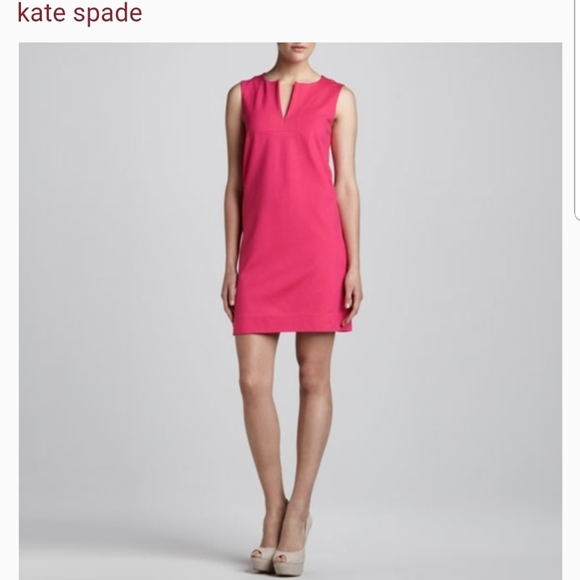 Kate Spade pink Keri sleevelesssheath dress size 8